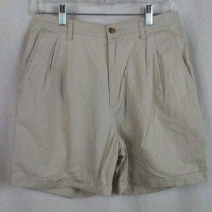 Eddie Bauer womens shorts Size 10 Beige tan khaki